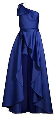 Jay Godfrey Women's Tany One-Shoulder Romper & Removable Skirt