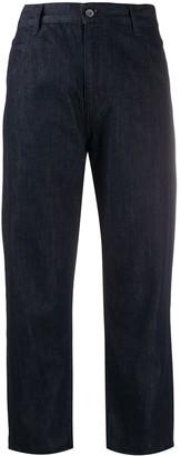 YMC Loose Fit Straight Leg Jeans