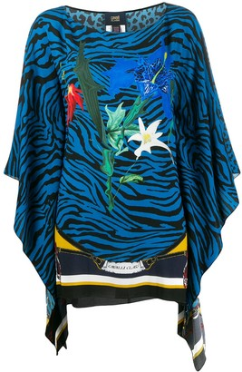 Class Roberto Cavalli draped sleeve blouse