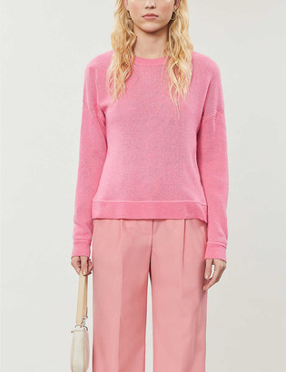 Lofty crewneck cashmere jumper