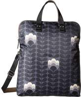 Orla Kiely Buttercup Stem Printed Fold-Over Tote Handbags