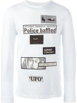 Blood Brother patch detail sweatshirt