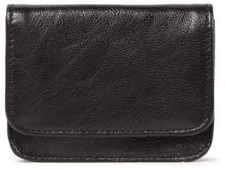 Tusk Foldover Leather Coin Purse