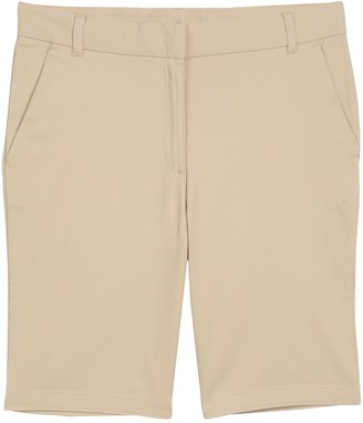 Chaps Girls Plus Size Stretch Bermuda Shorts