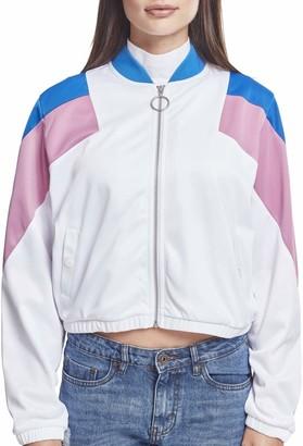 Urban Classics Women's Ladies 3-Tone Track Jacket