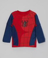 Spiderman Red Uniform Layered Tee - Boys
