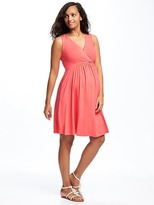 Old Navy Maternity Cross-Front Dress