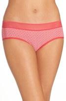 DKNY 'Sig Tailored' Print Bikini Briefs (3 for $30)
