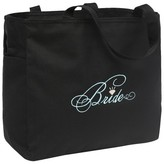 Hortense B. Hewitt Bride Diamond Wedding Gift Tote Bag - Black