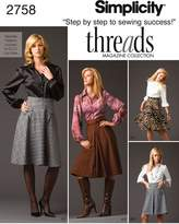 Simplicity Sewing Pattern 2758 Misses' Skirts
