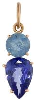 Irene Neuwirth One-Of-A-Kind Aquamarine and Tanzanite Charm