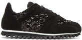 Comme des Garcons Black Spalwart Edition Sequin Sneakers