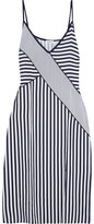 Splendid Striped Voile Dress - Navy