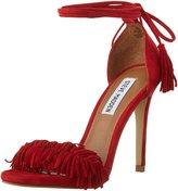 Steve Madden Women's Sassey Tie Wrapped Heeled Sandal
