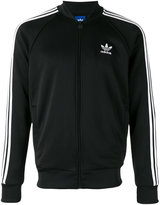 adidas logo print track jacket - men - Organic Cotton/Recycled Polyester - S