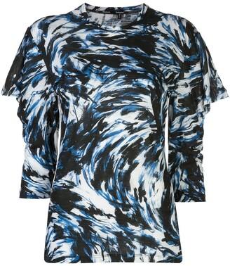Proenza Schouler feather-printed T-shirt