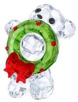 Swarovski 2017 Annual Edition Kris Bear Christmas Ornament