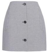 Carven Gingham Miniskirt