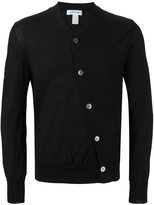 Comme des Garcons off centre fastening cardigan
