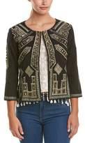 Raga The Dynasty Linen-blend Jacket.
