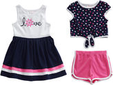 Youngland Young Land 3-pc. Short Set Girls