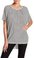 Foxcroft Fiona Pleated Hi-Lo Shirt