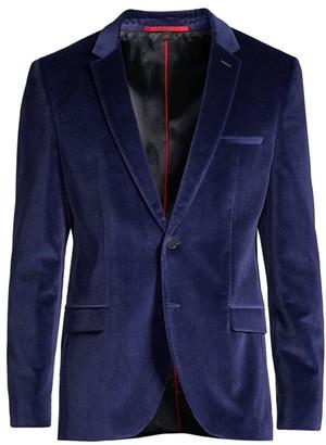 HUGO Extra-Slim Fit Arti Velvet Jacket