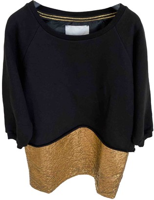Gaelle Bonheur Black Cotton Dress for Women