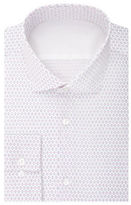 Calvin Klein Slim Fit Print Dress Shirt