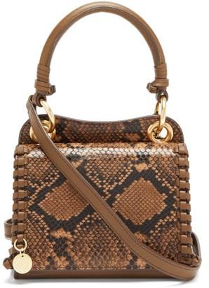 See by Chloe Tilda Snakeskin-effect Leather Shoulder Bag - Python
