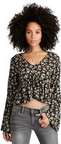Denim & Supply Ralph Lauren Floral-Print Bell-Sleeve Top