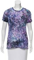 Prabal Gurung Printed Short Sleeve Top