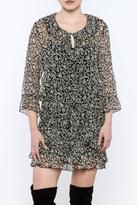 Anna Sui Long Sleeve Dress
