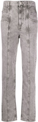 Etoile Isabel Marant Henoya tapered jeans