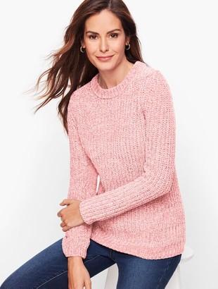 Talbots Mix Stitch Chenille Sweater