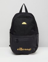 Ellesse Backpack With Logo In Black