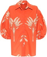 Johanna Ortiz Hawaiian Vibe cotton blouse
