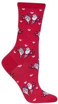 Hot Sox Love Birds Dress Crew Socks