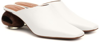 Neous Sobralia leather mules