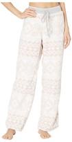 True Grit Dylan By Dylan by Plush Nordic Pajama Pants (Powder Pink) Women's Pajama