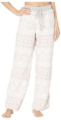 Dylan by True Grit Plush Nordic Pajama Pants (Powder Pink) Women's Pajama