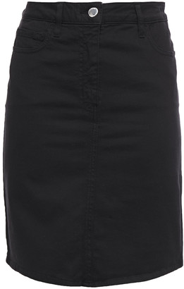 Love Moschino Logo-appliqued Denim Mini Skirt