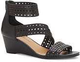 Lucky Brand Jaleela Perforated Wedge Sandals