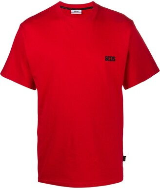 GCDS crew-neck logo T-shirt