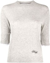 Philosophy di Lorenzo Serafini 3/4 sleeves logo pullover