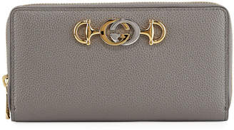 Gucci Zumi Zip Continental Wallet