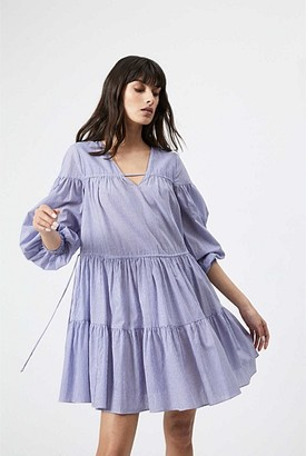 Witchery Stripe Trapeze Dress