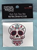 Fantasy Makers Day of the Dead Rat-tat-too Me Body Tattoo
