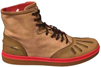 Gucci \N Camel Leather Boots