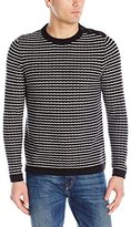 Nautica Men's Button Crew Sweater
